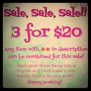 Sale!  Bundle and save!